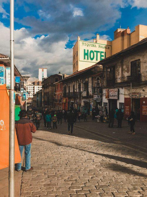 Ulica w La Paz