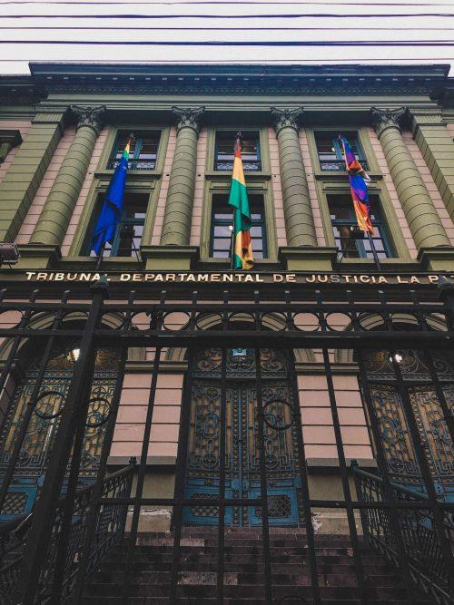 Departament sprawiedliwości w La Paz