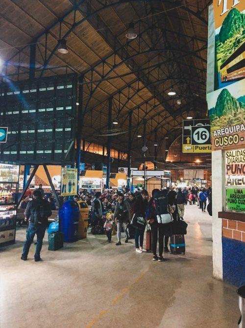 Dworzec w La Paz