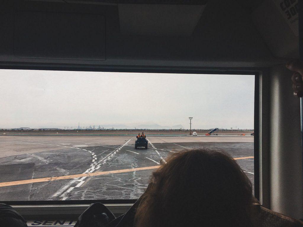 Samochód na lotnisku