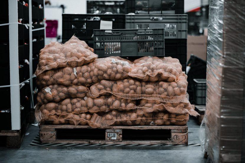 paleta ziemniaków