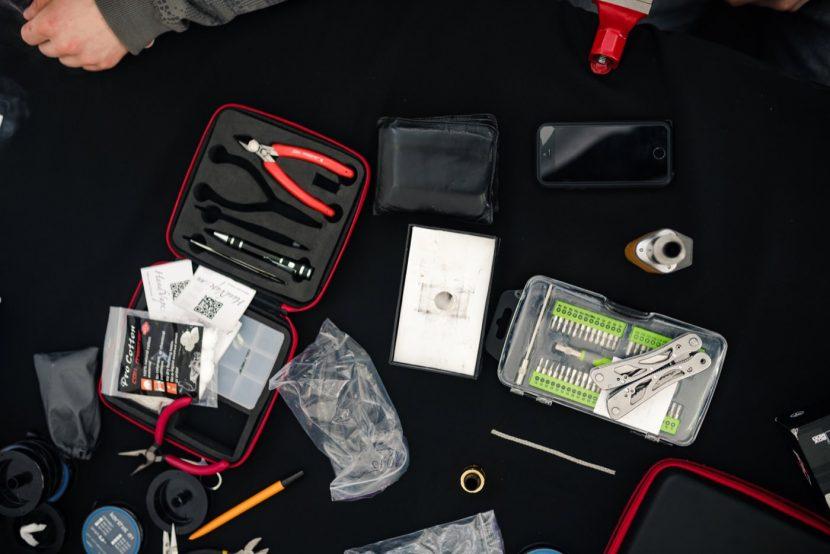 tools for vape expo workshops