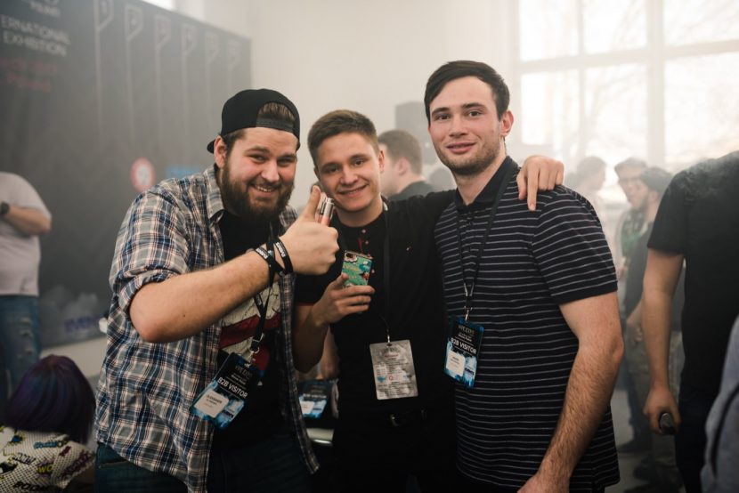 guests of the vape expo in Warsaw