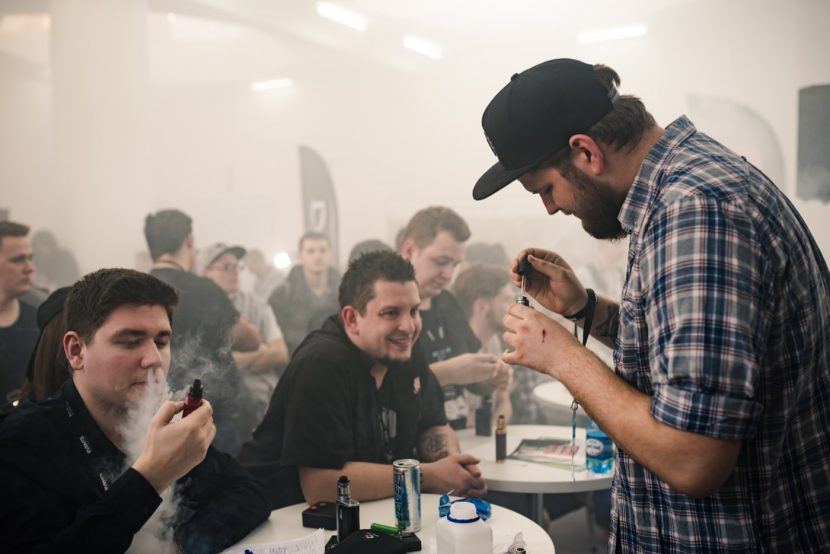 Vape expo competition in Warsaw