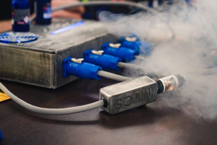 Urządzenie do testowania liquidów