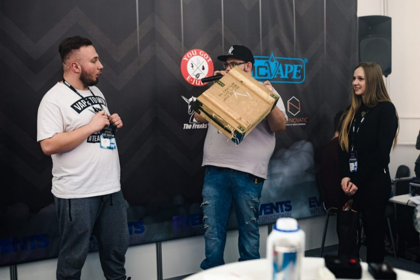 Award at the vape expo poland competition