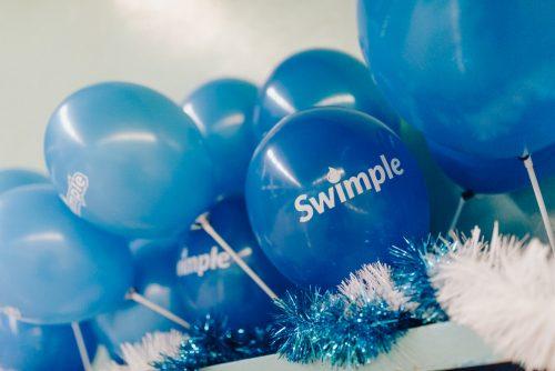 Niebieskie balony