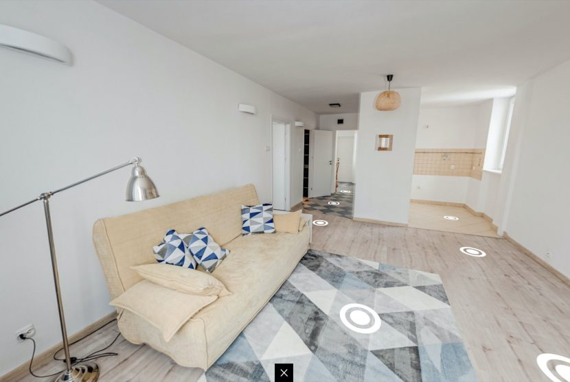 virtual tour - apartment for sale