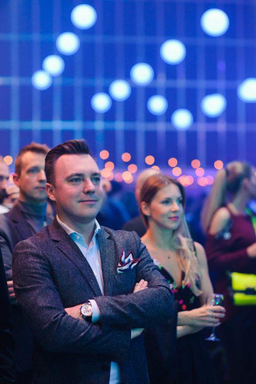 publiczność na premierze Volvo