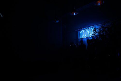 Neon w ciemności XC40
