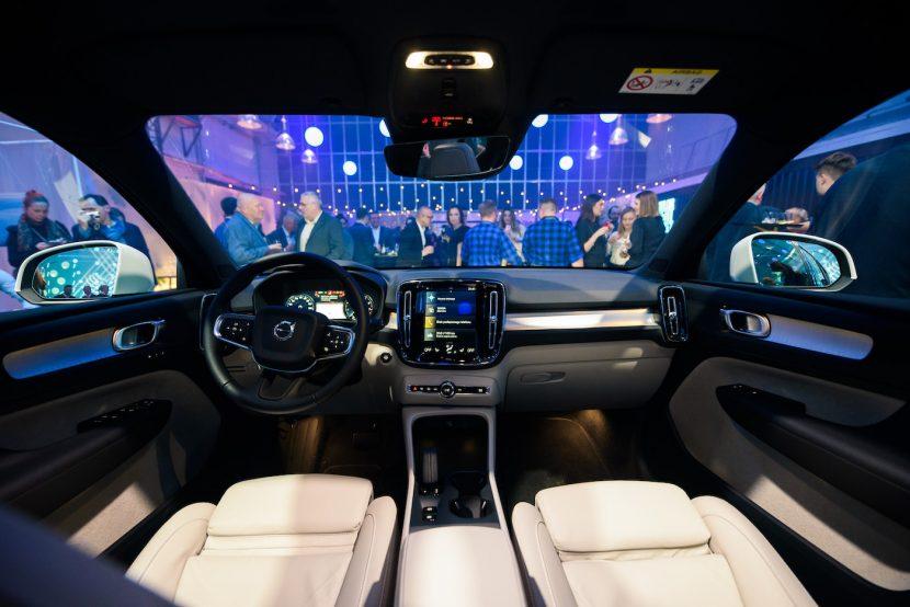 Wnętrze Volvo XC40