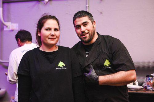 Kucharze Falafel Bejrut