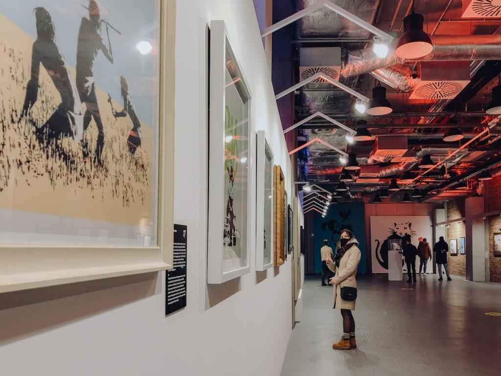 Wystawa Banksy w Centrum Koneser