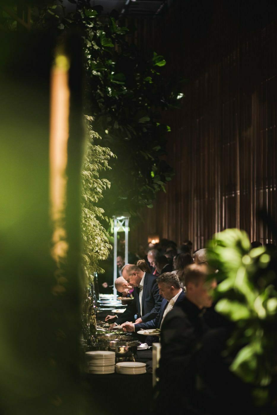 Catering w restauracji Belvedere w Łazienkach Królewskich