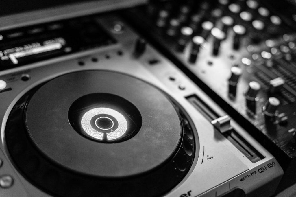 Konsola DJ