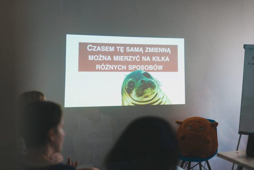 Foka na prezentacji