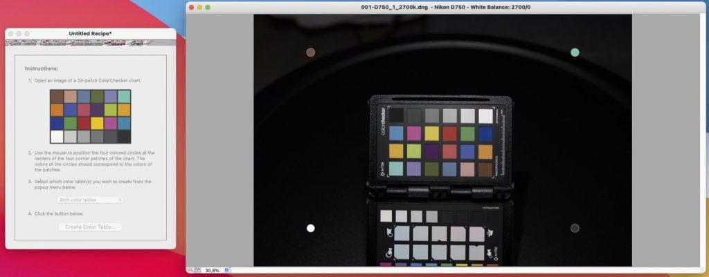 Profil dual Illuminant dla światła żarowego w DNG Profile Editor