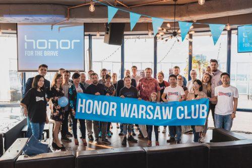 zdjęcie grupowe honor warsaw club