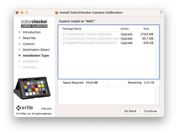 Instalacja ColorChecker Camera Calibration z Lightroom Plugin
