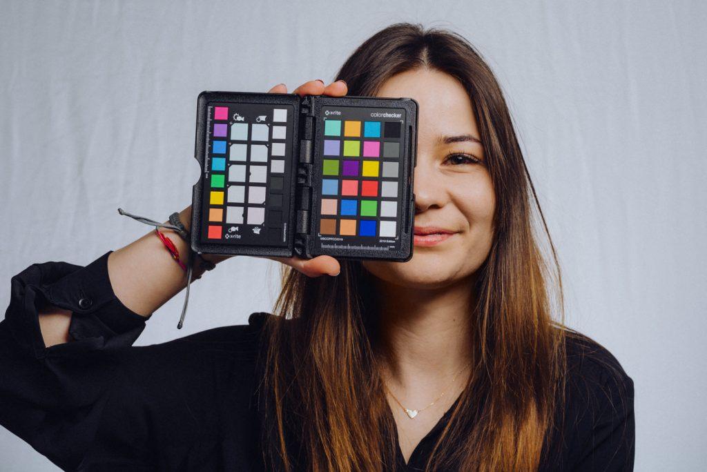 Sesja Color Checker