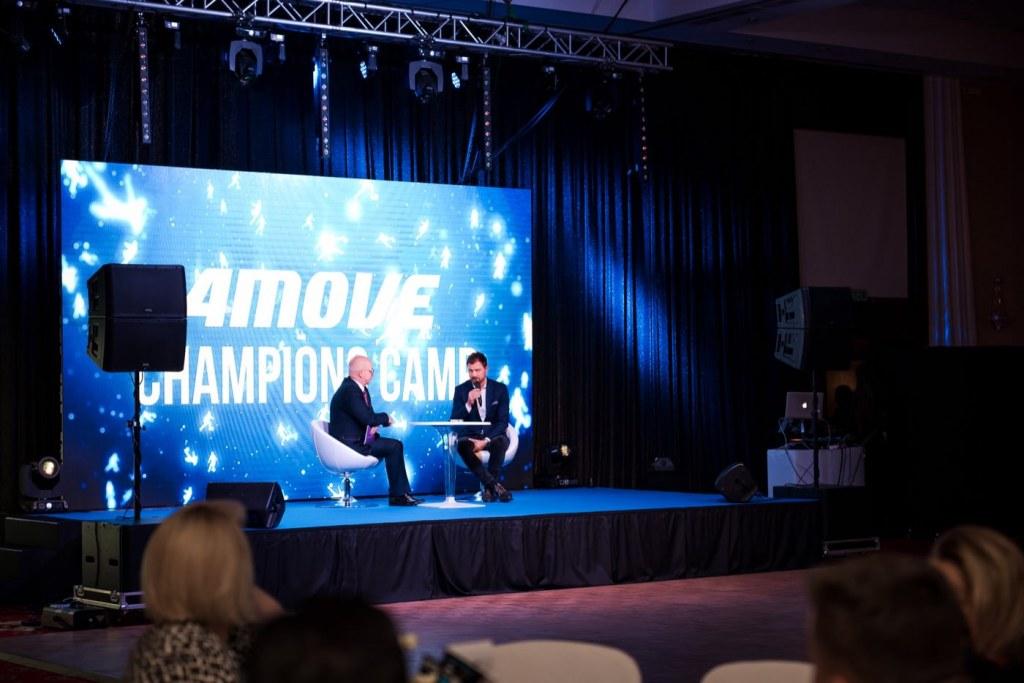 Wywiad z Jerzym Dudkiem podczas eventu 4Move Champions Camp w Hotelu Mazurkas