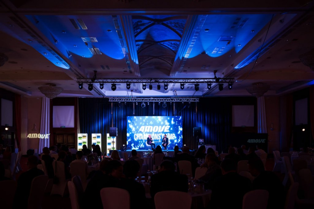Fotografia eventowa z eventu 4Move Champions Camp w Hotelu Mazurkas