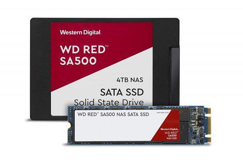 Serwer NAS dla fotografa eventowego WD Red SA500 4TB NAS